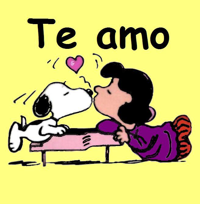 Snoopy y amor - Imagui